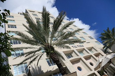 The Tides Hotel, Art Deco, South Beach, Florida.