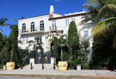 Versace Mansion on Ocean Drive, South Beach, Florida.
