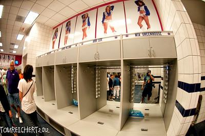 An sp inside the Dallas cowboys cheerleaders locker room