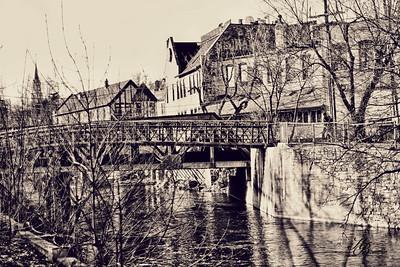 _0 RR Bridge 666  VINTAGE