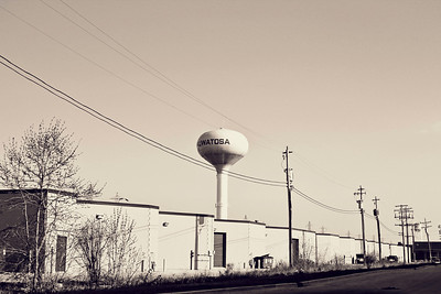 _0 Water Tower Vintage