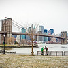 Brooklyn Bridge from Brooklyn