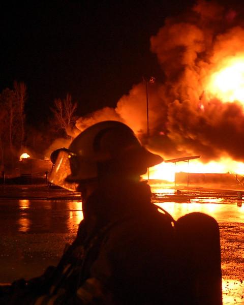 Texas Energy Fire