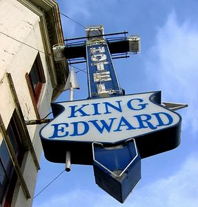 """The King Eddie Hotel """"Home of the Blues in Calgary"""""""