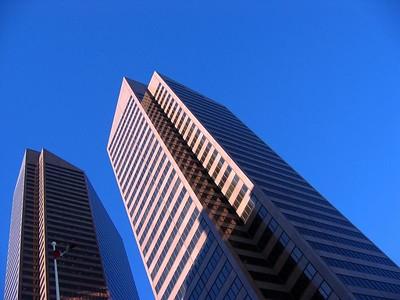 The Petro Canada skyscrapers. A symbol of Calgarys oil and gas driven economy.