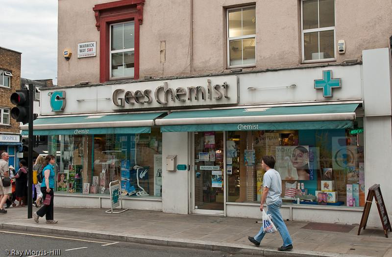 Gees Chemist, 27-29 Warwick Way