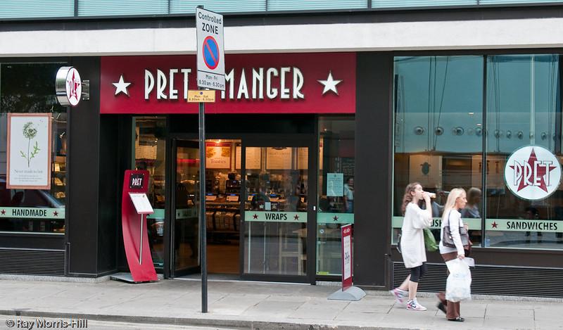 Pret a Manger Sandwich Shop, 129A Wilton Road