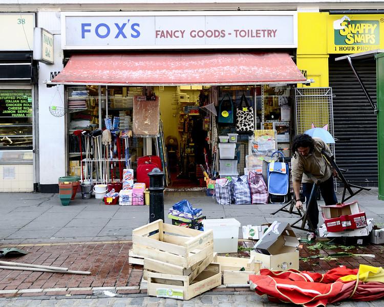 Fox's Stores, 36A Tachbrook Street, London