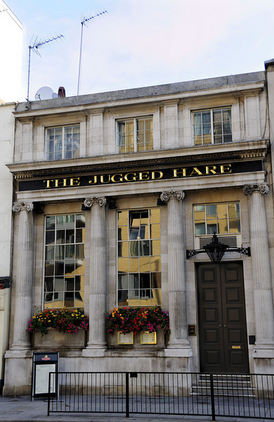The Jugged Hare Pub, 172 Vauxhall Bridge Road, London