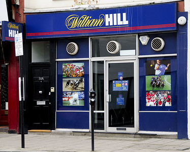 William Hill Bookmakers, 30 Upper Tachbrook Street, London