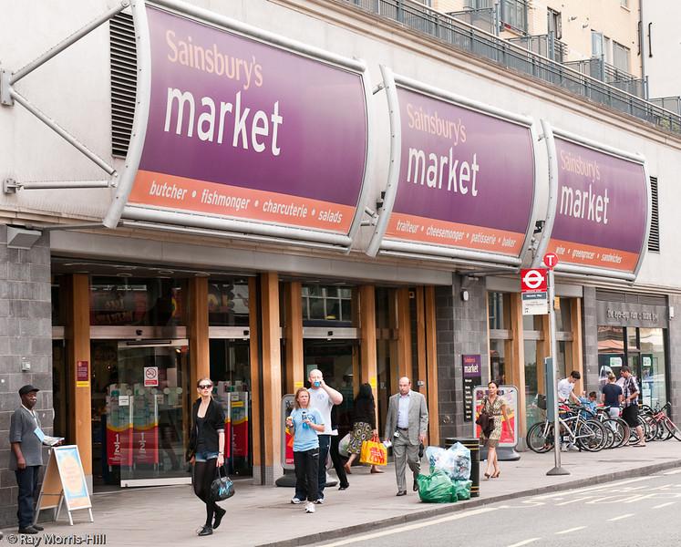 Sainsburys Pimlico Market, 99 Wilton Road