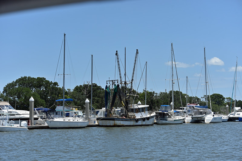 The Walking Dead Boats at Jekyll Island 06-23-19