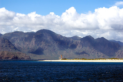 Lighthouse point in the Bay of the Dead, Sea of Cortez