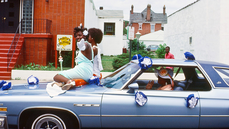 The cars were definitely better on the East side; these were adults.