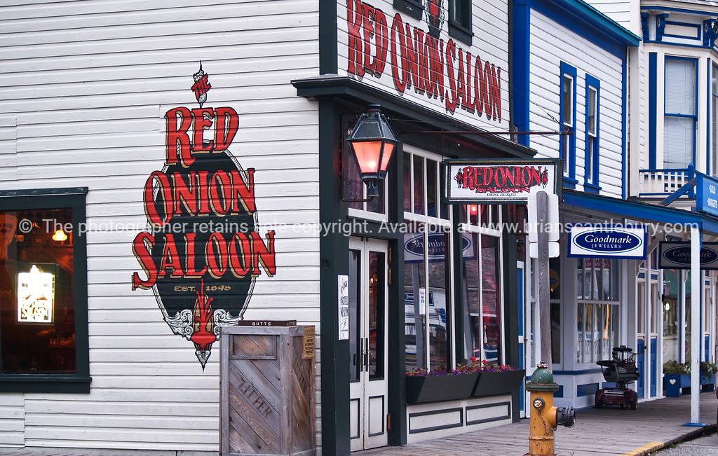 Skagway, Red onion Salon, Alaska