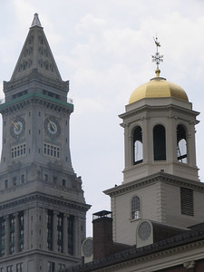 Faneuil Hall and the Customs House Tower