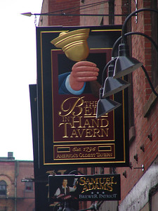 The Bell In Hand Tavern. Established in 1795 and America's oldest continuously serving tavern.