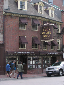 Union Oyster House. The oldest operating restaurant in The United States. It's housed in a building dating back to at least 1714.