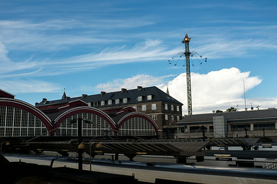 Carousel in the air