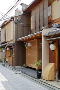 Urban Kyoto, rambling in downtown areas  Details in Gion Quarter, City of Kyoto
