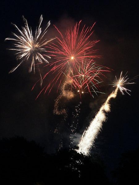 2006-07-01 Canada Day Fireworks at Nat Bailey baseball stadium near Queen Elizabeth park.  Happy 139th Canada!<br /> <br /> .