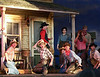Theatre Under The Stars (TUTS) - a Vancouver summer tradition presents Oklahoma.<br /> <br /> Our family friend in on the right front in the brown hat and red bandana.  This was at one of the full dress rehearsals.  Opening night is in 3 days.<br /> <br /> 2007-07-10<br /> <br /> .