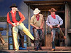 Theatre Under The Stars (TUTS) - a Vancouver summer tradition presents Oklahoma.<br /> <br /> Our family friend in on the right in the brown hat and red bandana.  This was at one of the full dress rehearsals.  Opening night is in 3 days.<br /> <br /> 2007-07-10<br /> <br /> .
