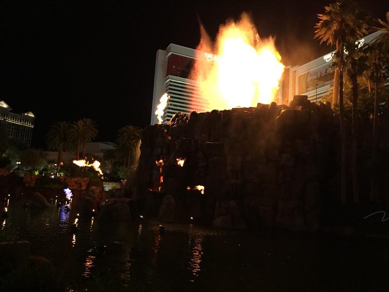 The Mirage volcano