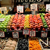 City market fruit vendor in Seattle, Washington