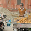 Street vendor in Jaipur, India