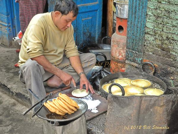 Street food, Kathmandhu, Nepal
