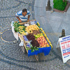 Street fruit vendor, Istanbul, Turkey