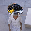 Mussel vendor with lemons, Istanbul, Turkey