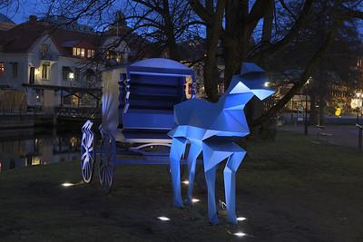 Vibration Hästen Stadsparken