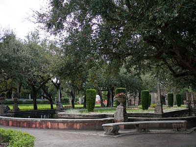More of the Vizcaya Garden's areas.