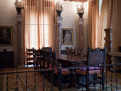 Dining facilities at Vizcaya.