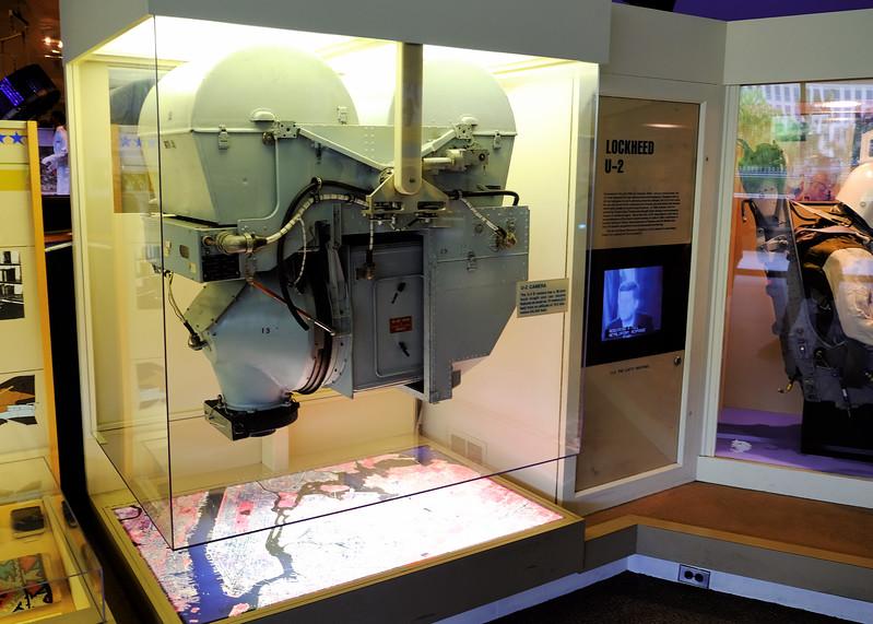 The camera from a U-2 spy plane.