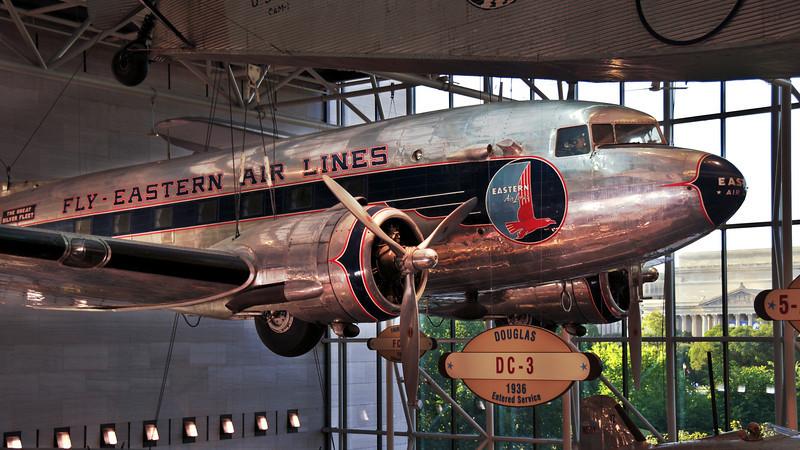 DC-3 Starboard side