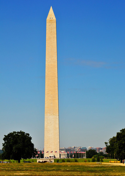 The Washington Monument:  Millions of people have taken this very same picture.  This one is mine.