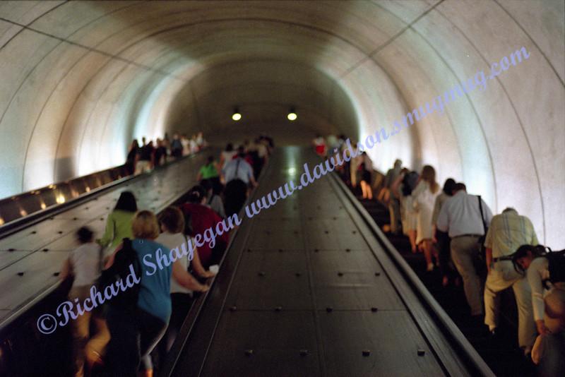 Friendship Heights metro stop