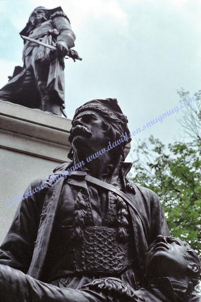 Statue near White House in Lafayette Park/Square