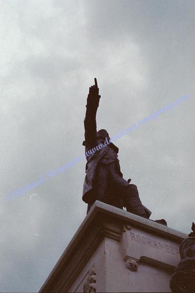 Statue near the White House in Washington, DC Lafayette Park/Square