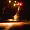 Wet roads and Red lights : Stop Go