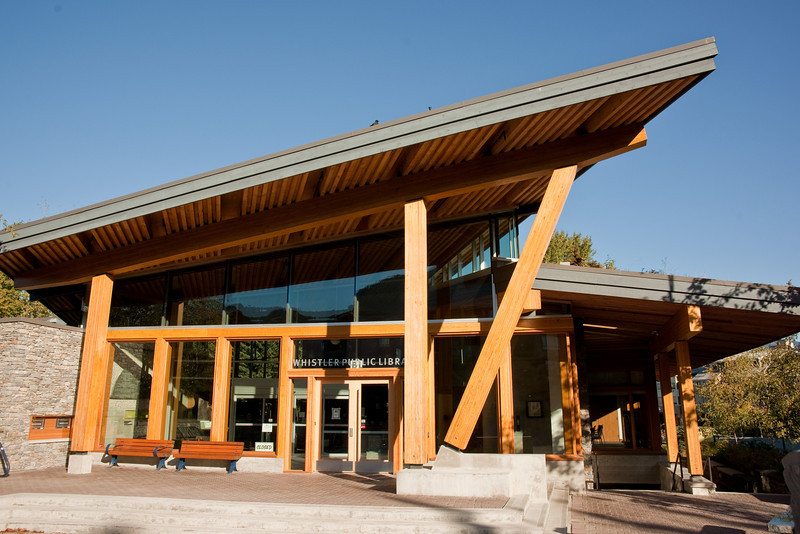 The new Whistler Public Library.