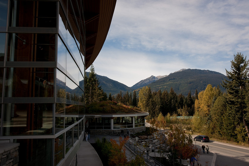 The new Squamish Lil'Wat Cultural Centre in Whistler.