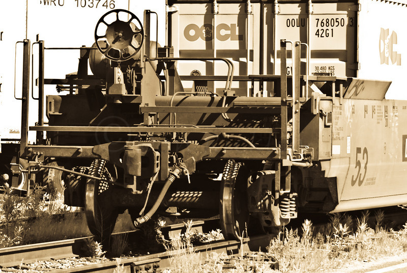 Rail Car Detail
