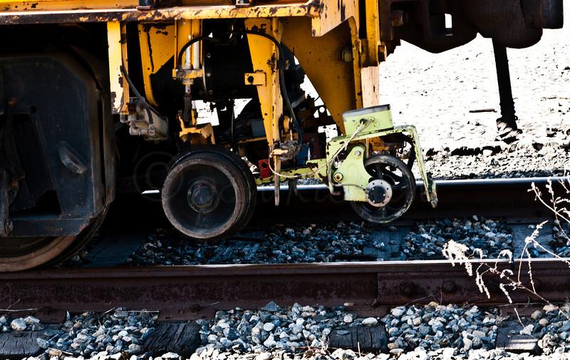 CSX rail Maintenance detail