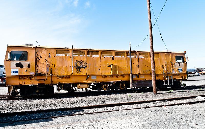 Another CSX rail maintenance machine
