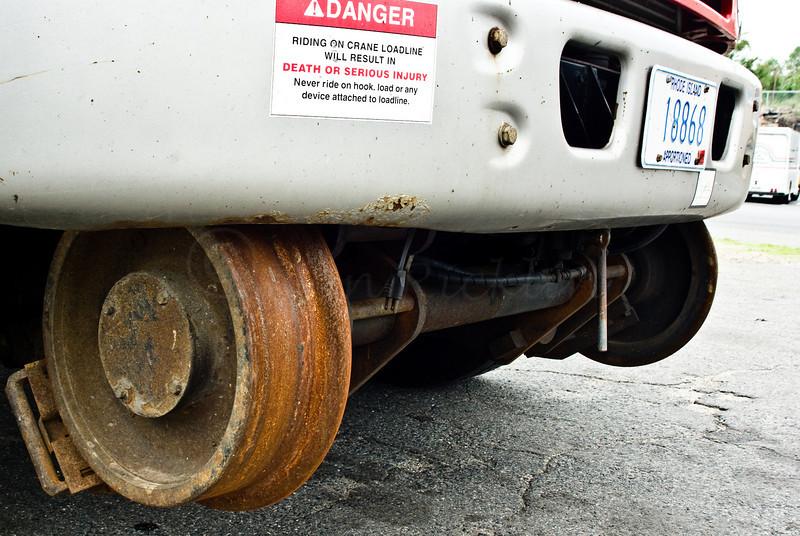 Rail runner utility truck detail