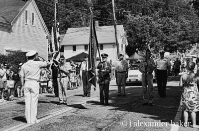The Color Guard, 4th of July Parade, Gilmanton, NH